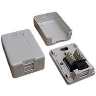 Datacom Datová zásuvka UTP CAT5E na omítku 2333