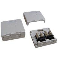 Datacom Datová zásuvka UTP CAT5E na omítku 2334
