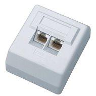 Datacom Datová zásuvka UTP CAT6 na omítku 2455
