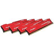 HyperX 32GB KIT DDR4 2933MHz CL17 Fury Red Series