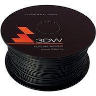 3D World PLA 1.75mm 1kg černá