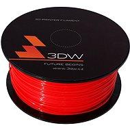 3DW PLA 1.75mm 1kg červená