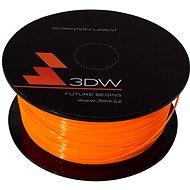 3D World PLA 1.75mm 1kg oranžová