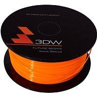 3DW PLA 1.75mm 0.5kg oranžová