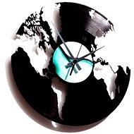 Discoclock Mapa světa