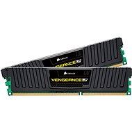 Corsair 16GB KIT DDR3 1600MHz CL9 Vengeance LP šedá