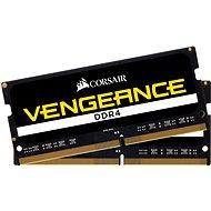Corsair SO-DIMM 32GB KIT DDR4 2666MHz CL18 Vengeance černá
