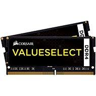Corsair SO-DIMM 32GB KIT DDR4 2133MHz CL15 ValueSelect černá