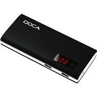 DOCA Powerbank 13000mAh QC černá