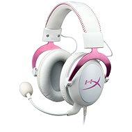 HyperX Cloud II Headset bílo-růžová