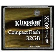 Kingston Compact Flash 32GB 600x Ultimate