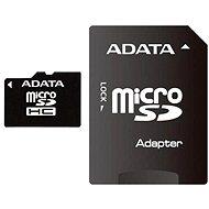 ADATA MicroSDHC 4GB Class 4 + SD adaptér