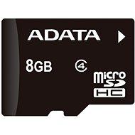 ADATA MicroSDHC 8GB Class 4 + OTG mikro čtečka