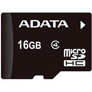 ADATA Micro SDHC 16GB Class 4 + OTG mikro čtečka