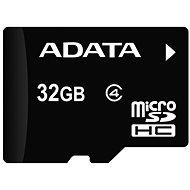 ADATA Micro SDHC 32GB Class 4 + OTG mikro čtečka