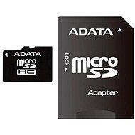 ADATA MicroSDHC 8GB Class 10 + adaptér