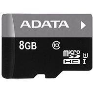 ADATA MicroSDHC 8GB UHS-I Class 10 + OTG čtečka