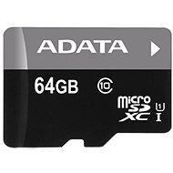 ADATA MicroSDXC 64GB UHS-I Class 10 + OTG čtečka