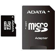 ADATA Micro SDHC 16GB Class 4 + SD adaptér