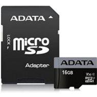 ADATA Premier Pro V30S micro SDHC 16GB UHS-I U3 + SD adaptér
