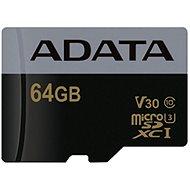 ADATA Premier Pro V30G micro SDXC 64GB UHS-I U3