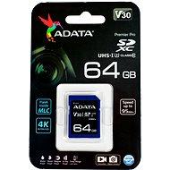 ADATA Premier Pro V30S SDXC 64GB UHS-I U3