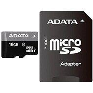 ADATA Premier Micro SDHC 16GB UHS-I + SDHC adaptér