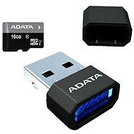 ADATA Premier MicroSDHC 16GB UHS-I + Micro Reader