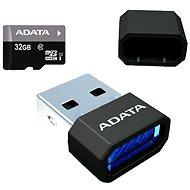 ADATA Premier MicroSDHC 32GB UHS-I + Micro Reader