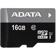 ADATA Premier micro SDHC 16GB UHS-I A1 Class 10