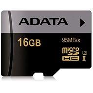 ADATA Premier Micro SDHC 16GB UHS-I U3 Class 10