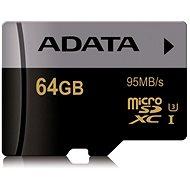 ADATA Premier MicroSDXC 64GB UHS-I U3 Class 10