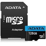 ADATA Premier Micro SDXC 128GB UHS-I Class 10 + SD adaptér