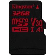 Kingston Canvas React MicroSDHC 32GB UHS-I V30