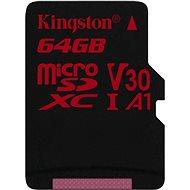 Kingston Canvas React MicroSDXC 64GB UHS-I V30