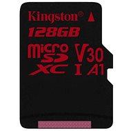 Kingston Canvas React MicroSDXC 128GB A1 UHS-I V30