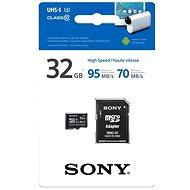 Sony MicroSDHC 32GB Class 10 + SD adaptér