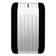 """Externí disk Verbatim 2.5"""" Traveller USB HDD 750GB - stříbrný"""