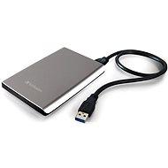 "Verbatim 2.5"" Store 'n' Go Ultra Slim USB HDD 500GB - stříbrný"