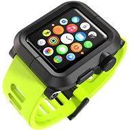 Lunatik EPIK pro Apple Watch 42mm (černý polykarbonát / zelený silikon)