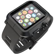 Lunatik EPIK pro Apple Watch 1 Series 42mm (černé aluminium / černý silikon)