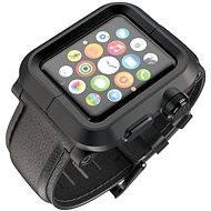 Lunatik EPIK pro Apple Watch 42mm (černé aluminium / černá kůže)