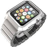 Lunatik EPIK Metal Link pro Apple Watch 42mm (stříbrné aluminium / stříbrný kov)