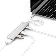 Hyper USB-C hub s 4K HDMI stříbrný