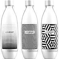 SodaStream Láhev TriPack 1l Fuse Black&White