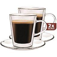 Maxxo Termo skleničky DF909 + 2x podšálek