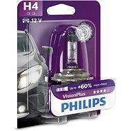 PHILIPS  H4 VisionPlus, 60/55W, patice P43t-38