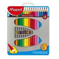 MAPED Metal Box 18 barev