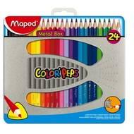 MAPED Metal Box 24 barev