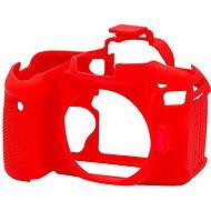 Easy Cover Reflex Silic pro Canon 80D červené